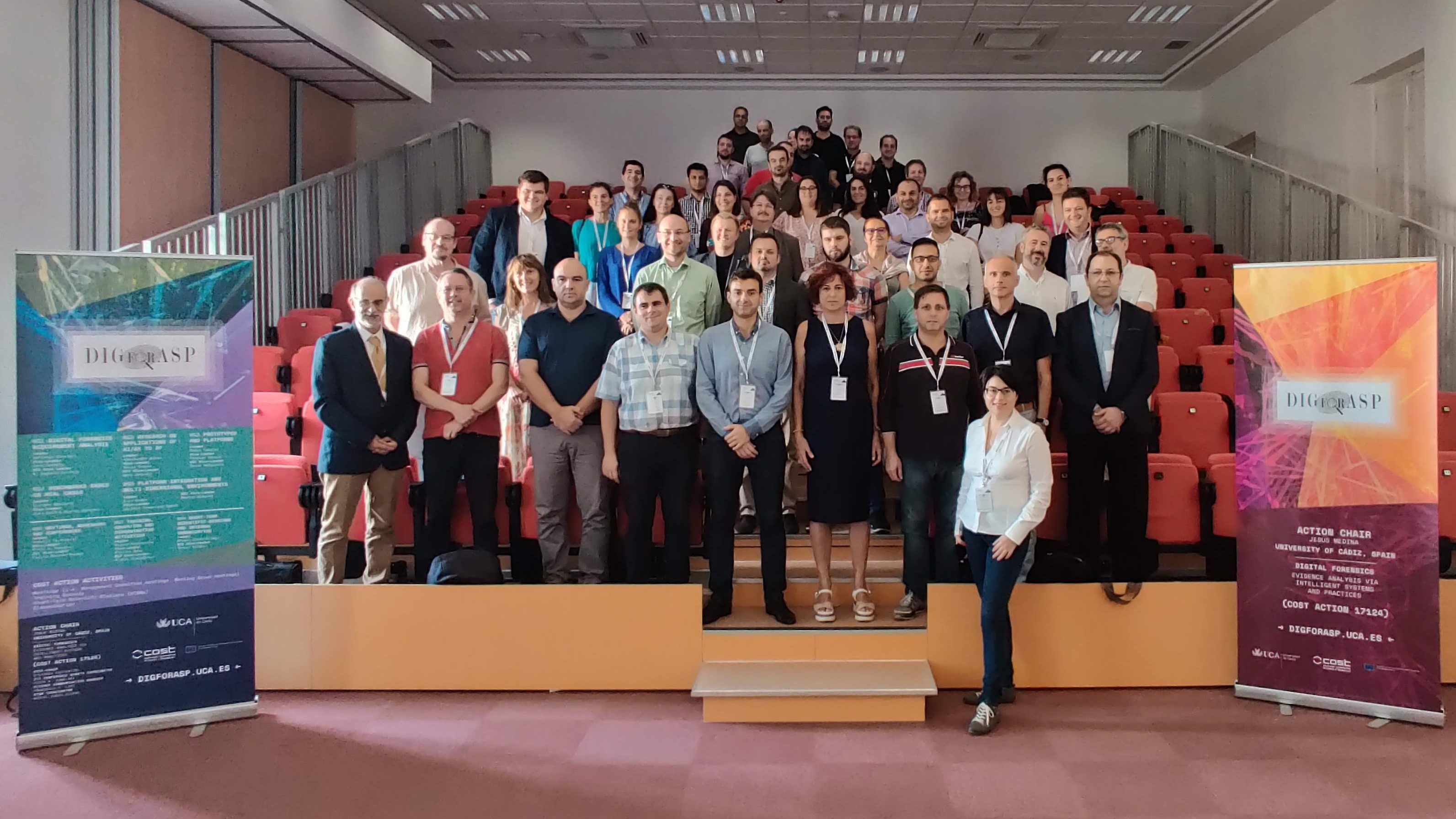 Digital Forensics European network 'DIGforASP' holds third Working Group Meeting in Malta