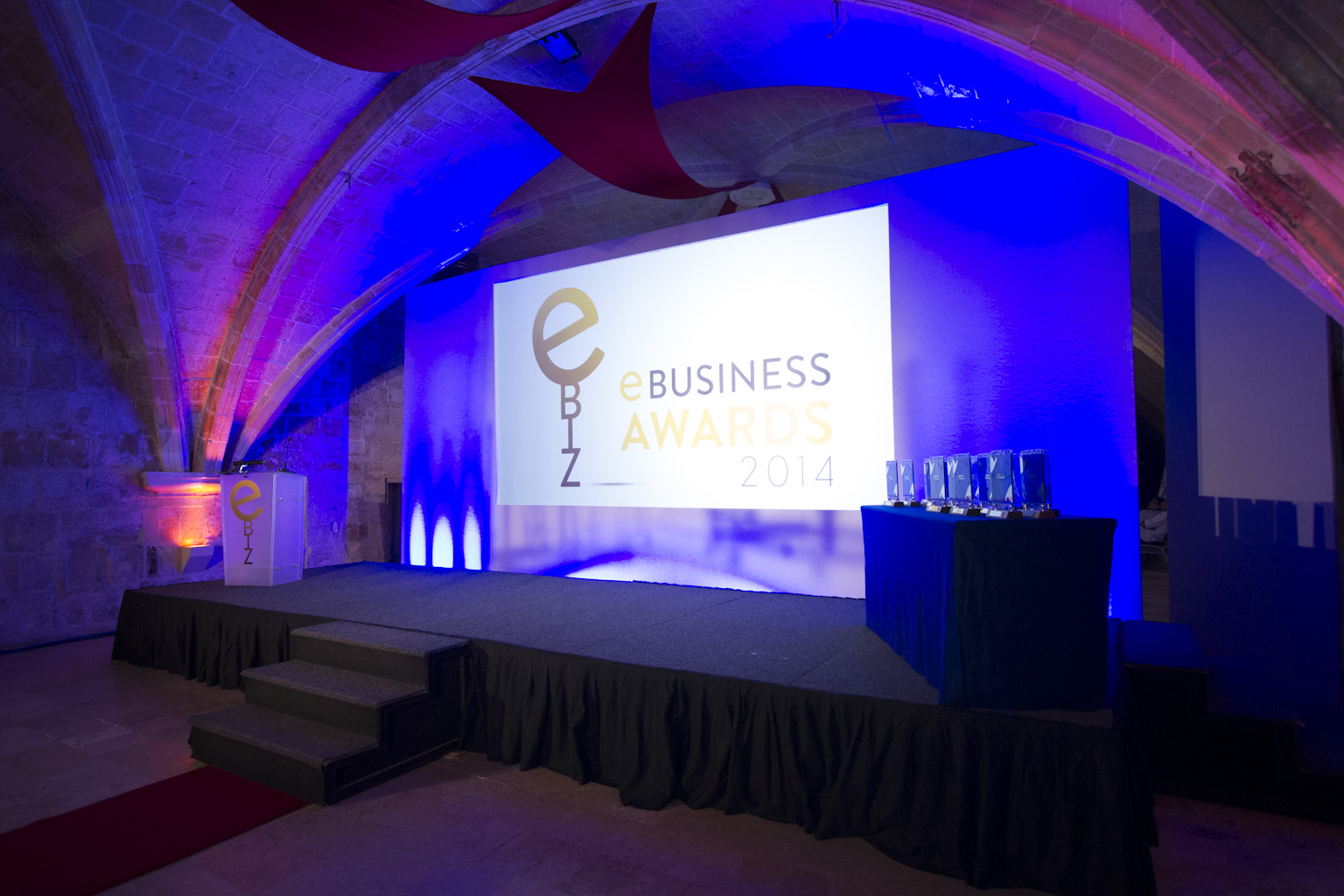 We're at the MCA eBusiness Awards 2014